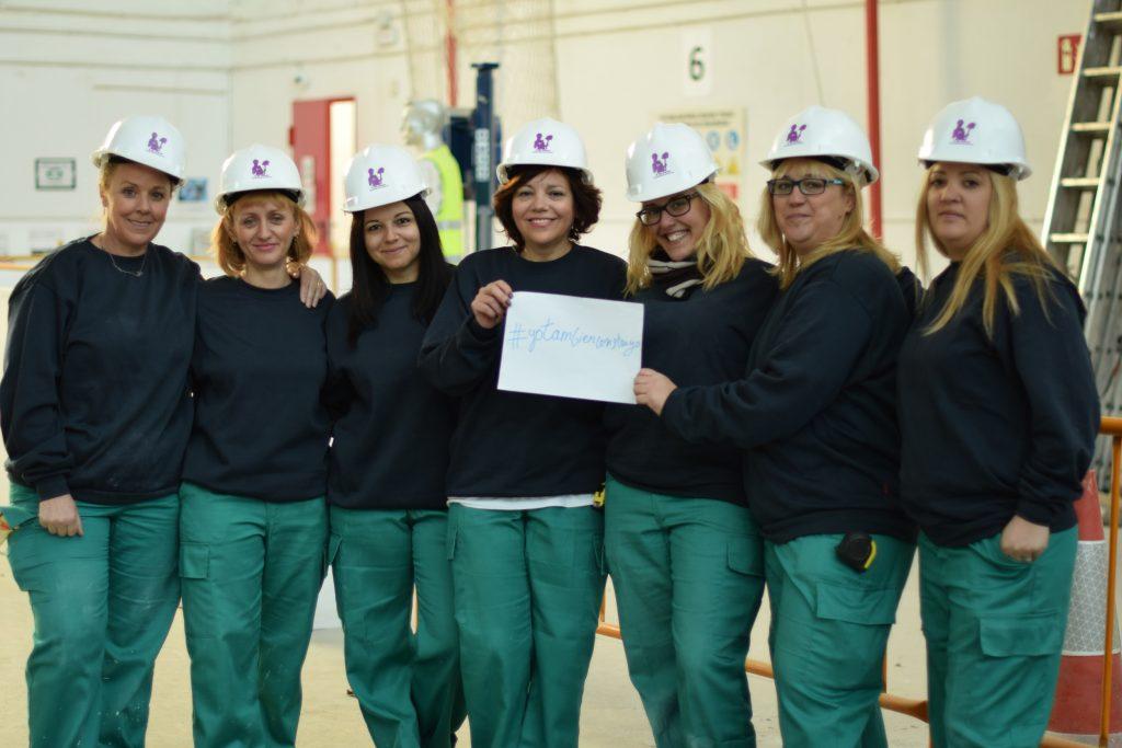 mujeres sector construcción