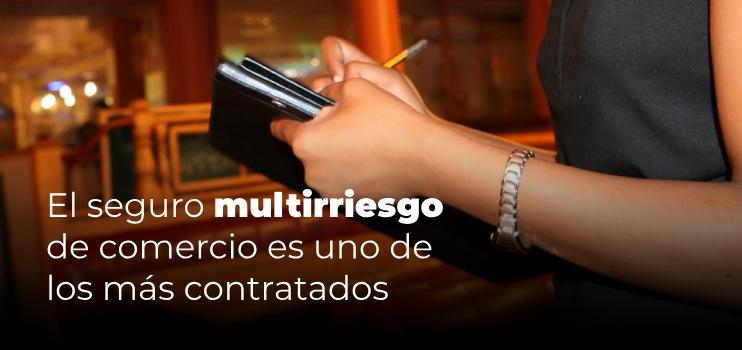 seguro multirriesgo comercio hosteleria