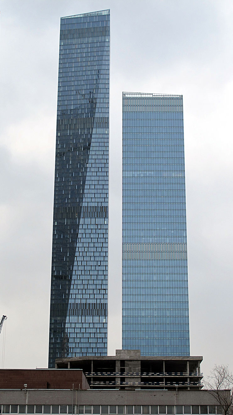 Oko Tower en Moscú
