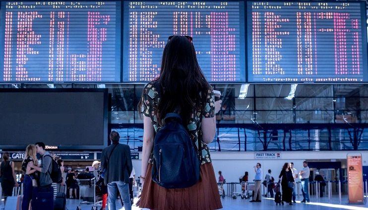 aeropuerto viajes en avión