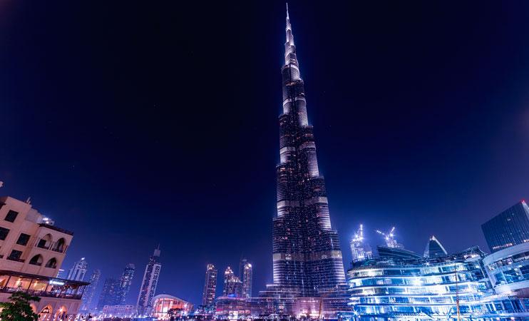 Rascacielo más alto del mundo Burj Khalifa