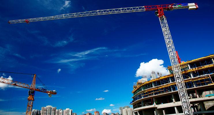 Crecimiento de la construcción en España