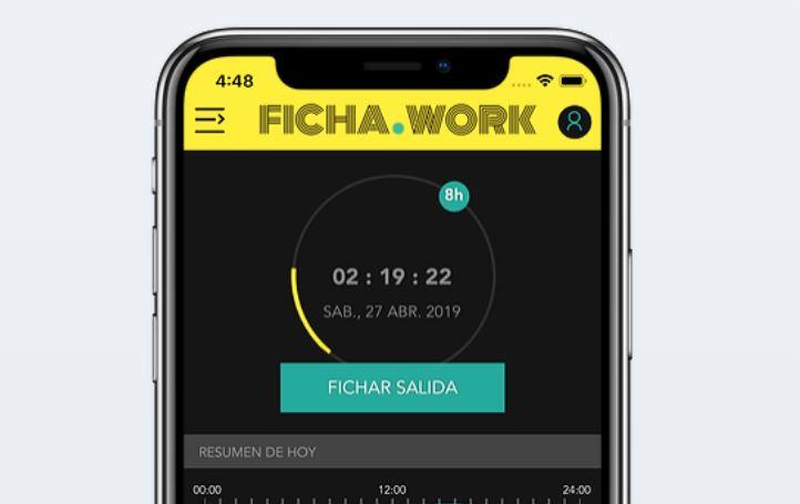 Ficha Work una buena aplicación de registro laboral