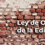 Ley de Ordenación de la Edificación (LOE)