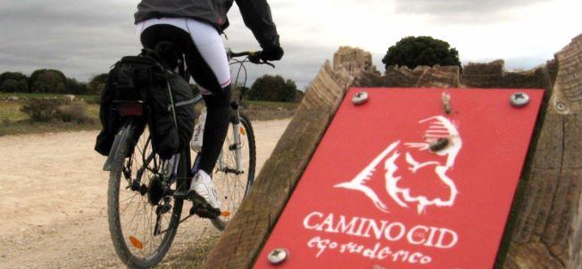 ruta en bici camino del cid