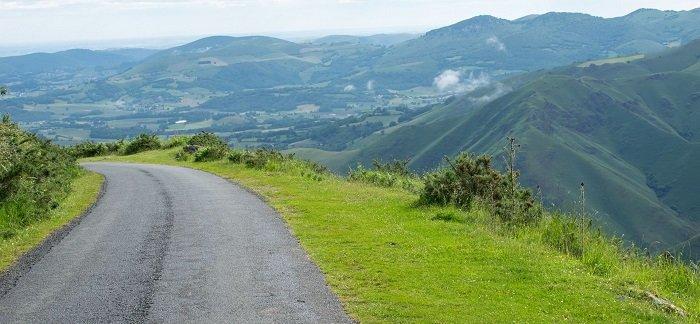 ruta en bici camino de santiago