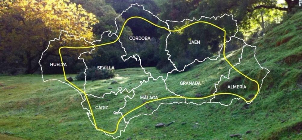 ruta en bici en andalucia