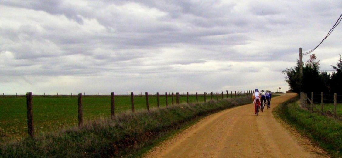 ruta en bici via de la plata