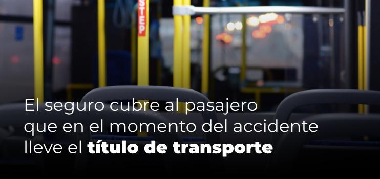 seguro obligatorio autobus