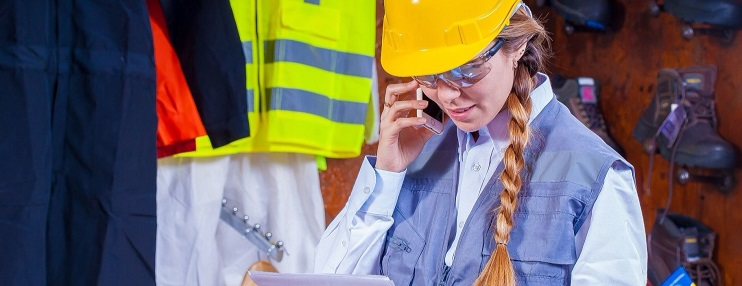 teléfonos móviles para la construcción