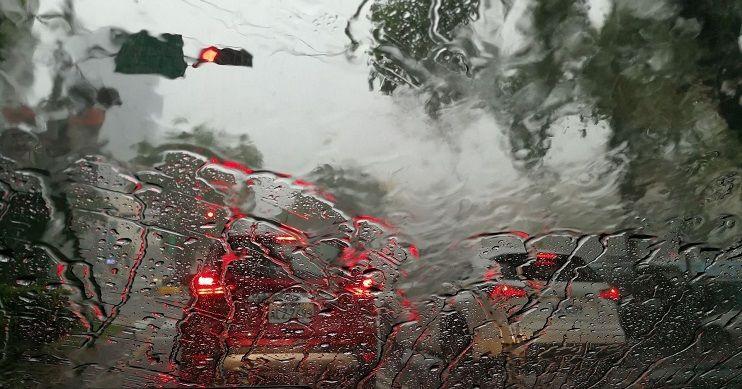 accidente por temporal y lluvias
