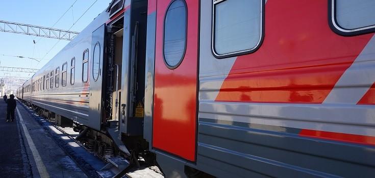 ferrocarril transiberiano en moscú