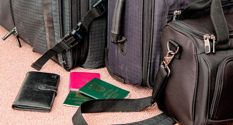cosas a llevar en maleta de viaje